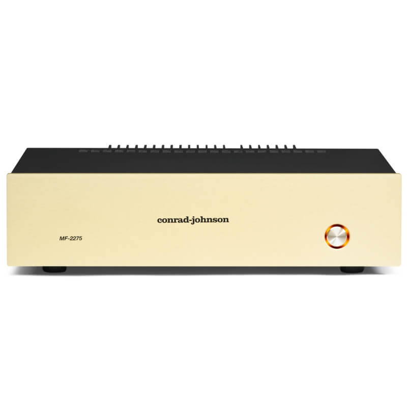 conrad johnson amplifiers MF 2275 Solid State Amplifiers front