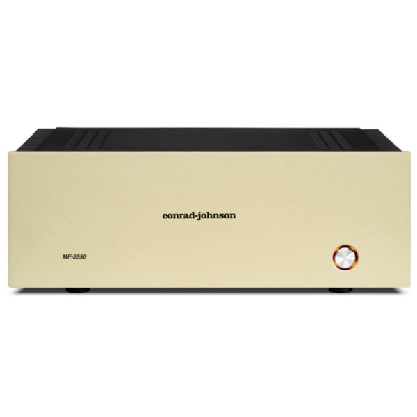 conrad johnson amplifiers MF 2550 Solid State Amplifiers front