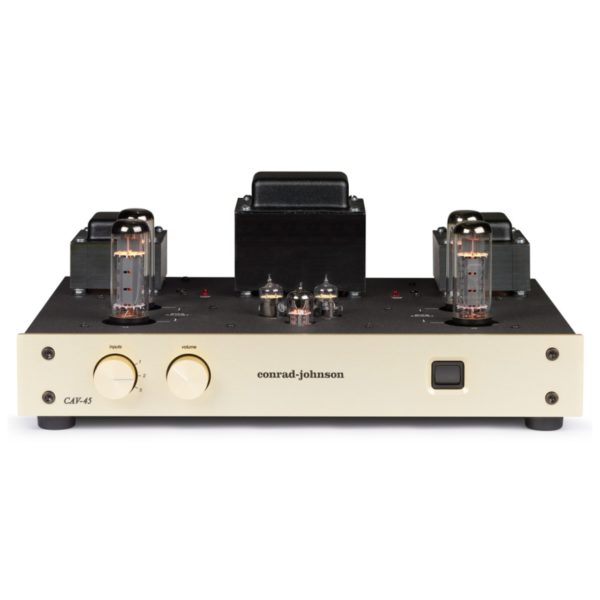 conrad johnson control amplifiers CAV 45 Stereo Control Amplifier FRONT