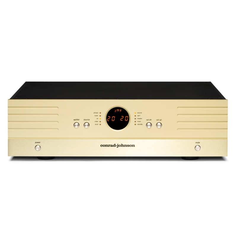 conrad johnson preamplifier ET5 Enhanced Triode FRONT