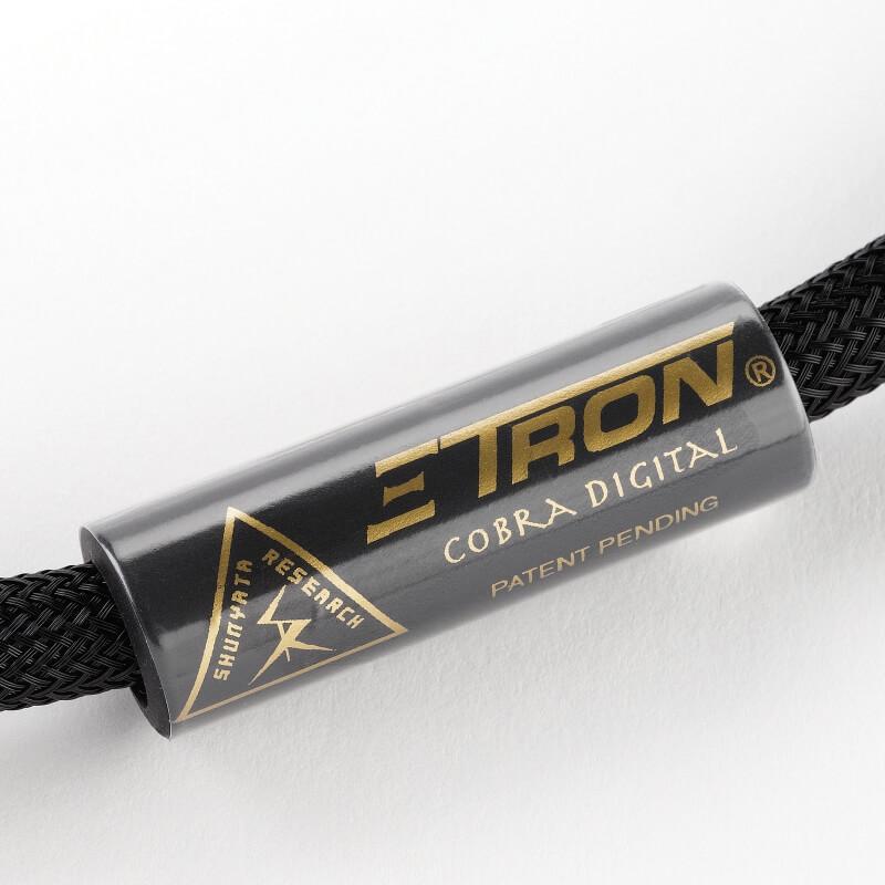 shunyata research digital cables ΞTRON® COBRA DIGITAL XLR label