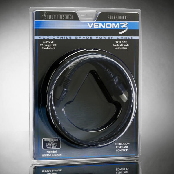shunyata research power cables venom series venom3 pkg