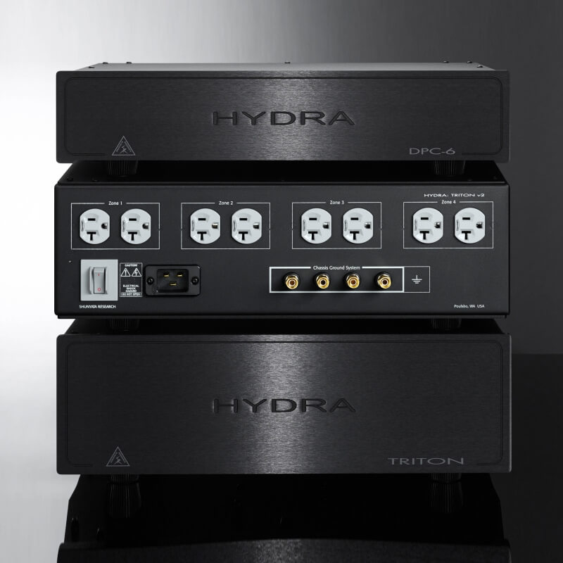 shunyata research power distribution hydra series triton v3 stack back