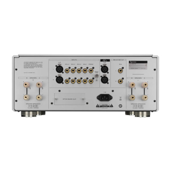 esoteric amplifiers integrated amplifiers f-07_rear