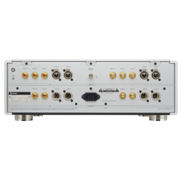 esoteric preamplifiers C-03Xs_Rear