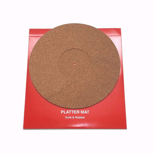 thorens accessories platter mat cork and rubber