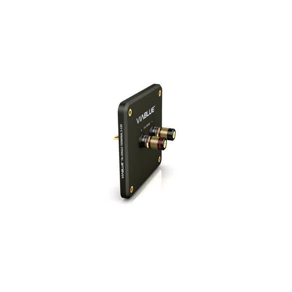 viablue accessories speaker terminals t6s bi-terminal s-120 bk bp