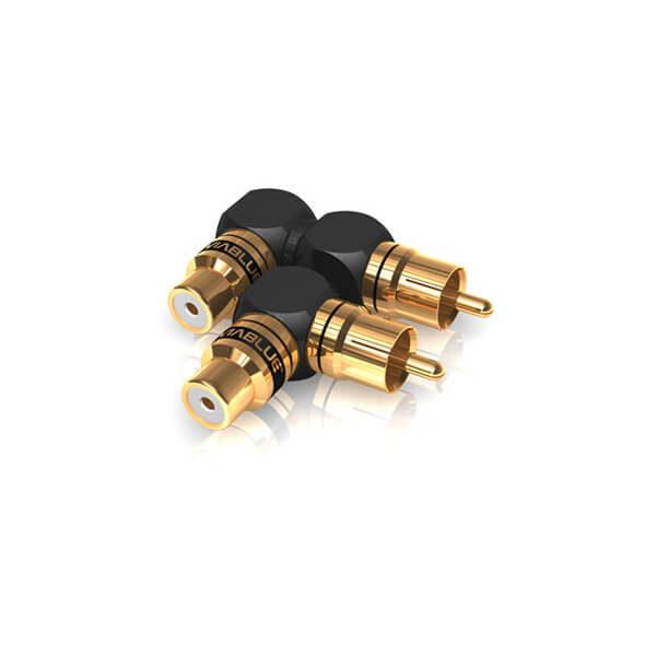 viablue plugs xs series xs rca adapter 90 s xl mix (2)