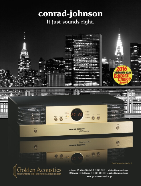 Golden Acoustics Adv 5os city project NewYork Gat