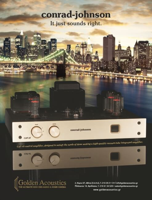 Golden Acoustics Adv 6os city project NewYork CAV-45