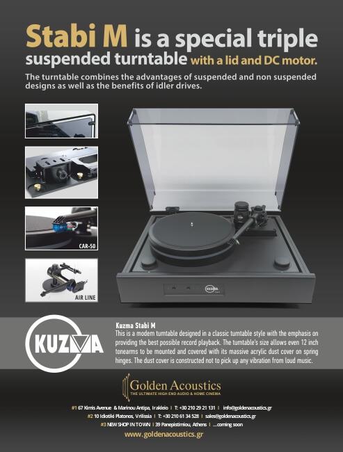 golden acoustics Adv 3os 2017 KUZMA STABI M