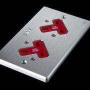 sineworld wall ac outlet SW-2LP UK (Platinum)