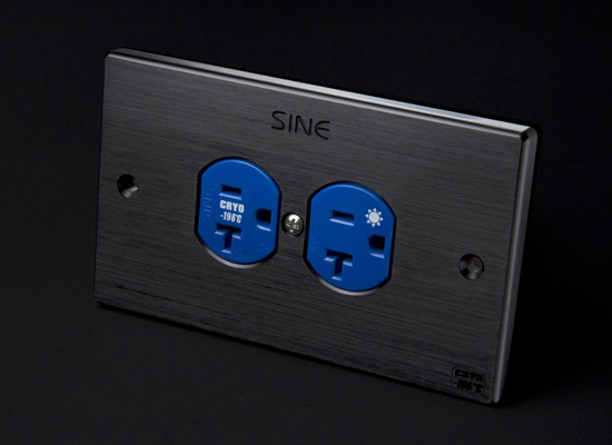 sineworld wall ac outlet SW-2LP US (Platinum) 4